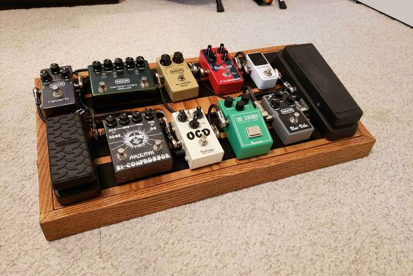 DIY Pedal Board Builds