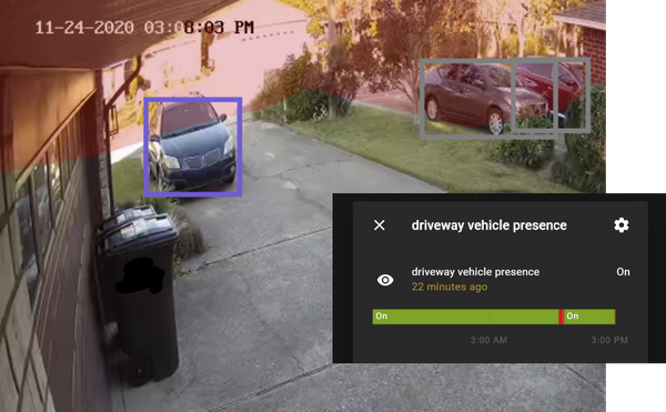Car Presence Sensor with Home Assistant and Last Watch AI